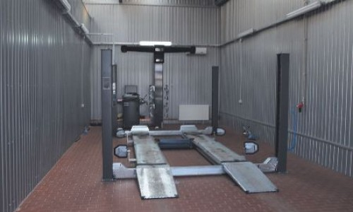 Centrul de vanzari si service pentru  Mercedes-Benz