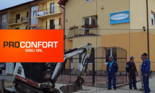 Pro Confort: Proiectare bransamente gaze in Sibiu