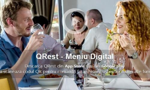 QRest – aplicatia mobila care dinamizeaza procesul de servire si primire al comenzilor intr-un restaurant