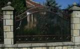 Gard din fier forjat produs si oferit de Metcry