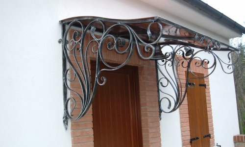 Copertine fier forjat – stilul baroc la dumneavoastra acasa