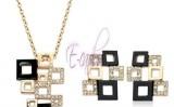 Bijuterii cu cristale Swarovski de la E-cadou, magazinul ideal pentru cadouri rafinate!