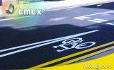 Marcaj rutier realizat cu vopsea profesionala Emex