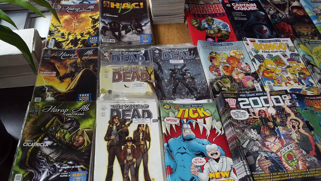 benzi desenate free comic book day 2016