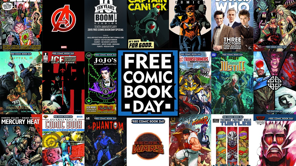 free comic book day - red goblin