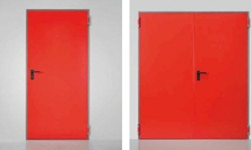 Usi antifoc metalice: solutia ideala impotriva raspandirii incendiilor