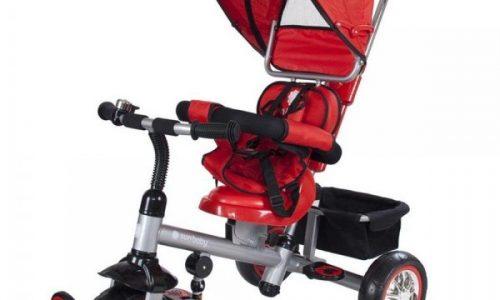 Cum ii inveti pe copii sa mearga pe triciclete