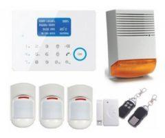 Sisteme alarma wireless GSM