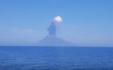 Vulcanului Stromboli a erupt din nou în sudul Italiei