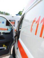 7 persoane au suferit în urma unui impact cu o cisternă plină cu acid sulfuric