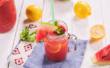 Limonada cu pepene roșu și mentă – metoda perfectă de a te răcori