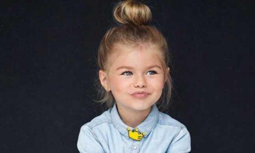 Cea mai frumoasă fetiță din lume, la doar 6 ani