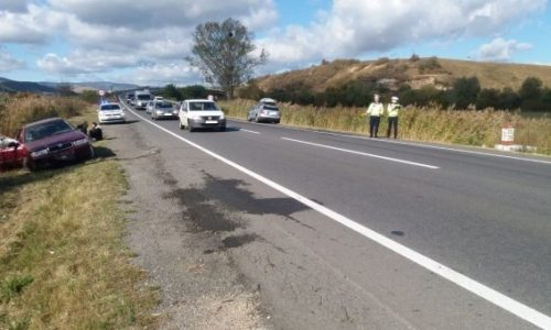 Accident rutier grav în afara localității Huedin